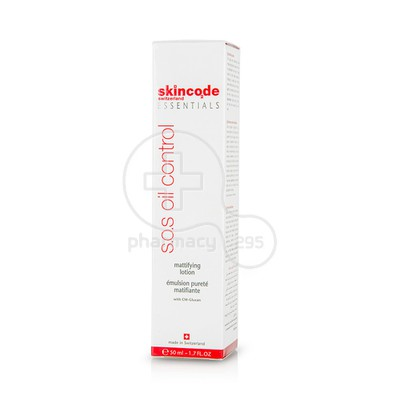 SKINCODE - ESSENTIALS S.O.S.Oil Control Mattifying Lotion - 50ml