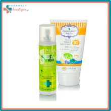 Pharmasept Pack Natural Sun Cream SPF30 - Βρεφικό Αντιηλιακό, 100ml & Insect Lotion - Αντικουνουπικό, 100ml