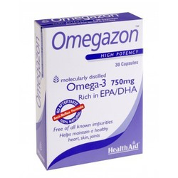Health Aid Omega 3 750 mg 30caps