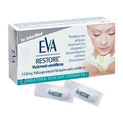Eva Restore 10 Vaginal Oval Suppositories