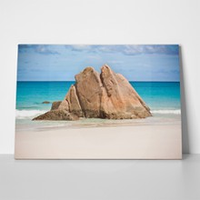 Rocky beach at seychelles 140227786 a