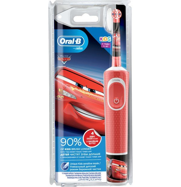ORAL-B VITALITY KIDS CARS 1X1