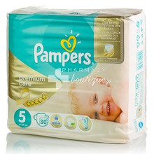 Pampers No.5 (11-18 kg) - Premium Care, 30τμχ.