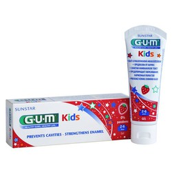 Gum Kids Toothpaste 2-6 years old  50ml strawberry