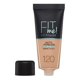 MAYBELINNE FIT ME MATTE & PORELESS FOUNDATION 120 CLASSIC IVORY 30ML