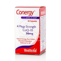 HEALTH AID - CONERGY Mega Strength CoQ-10 30mg - 30caps