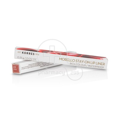 KORRES - MORELLO Stay-on Lip Liner No01 Nude - 0,35gr