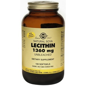 Solgar lecithin 1360mg 100s
