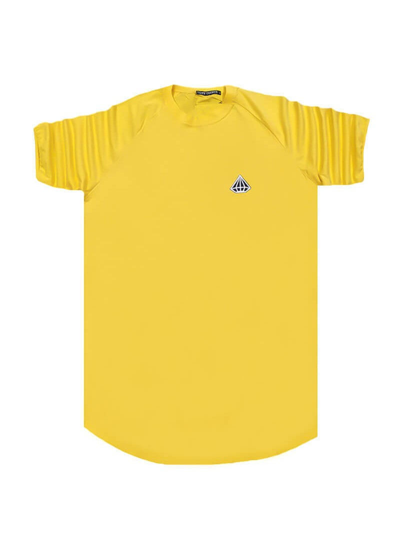 TONY COUPER YELLOW DIAMOND T-SHIRT