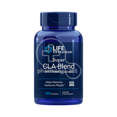 LIFE EXTENSION - Super CLA Blend with Sesame Lignans 1000mg - 120softgels