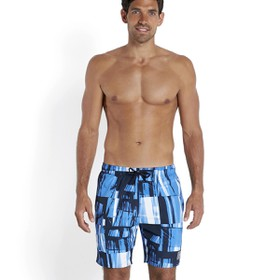 "Printed Check Leisure 18"" Watershort Print 13  Βερμούδα Ανδρ"