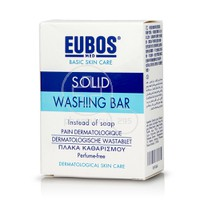 EUBOS - SOLID WASHING BAR(ΧΩΡΙΣ ΑΡΩΜΑ) - 125gr.