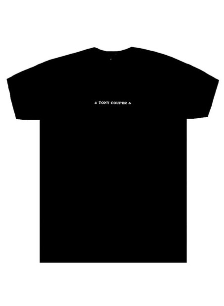 TONY COUPER TT20/3 BLACK CLASSIC T-SHIRT