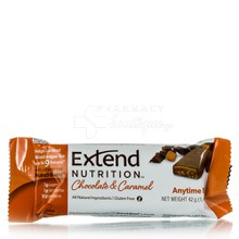 Extend Nutrition Bar Chocolate & Caramel - για Διαβητικούς, 42gr