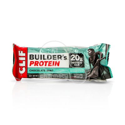 CLIF -  CLIF BAR Μπάρα Πρωτεΐνης Builder's Protein Chocolate Mint - 68gr