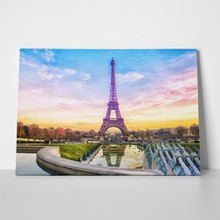 Eiffel tower sunset 556743958 a