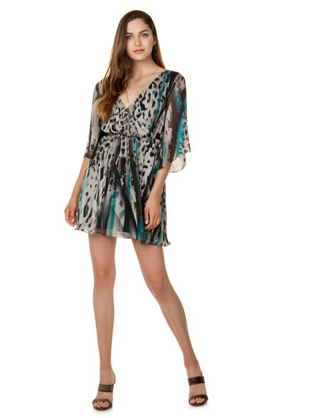 c2247748c8d Φόρεμα σε animal print σχέδιο