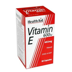 Health aid vitamin e 600iu