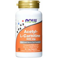 NOW ACETYL L-CARNITINE 500MG  50VEG. CAPS