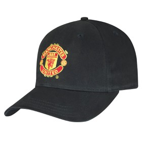 BASIC CAP SPORTS WORLD MAN UTD BLACK  ΚΑΠ. ΕΙΣ