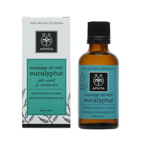 APIVITA Massage oil with eucalyptus 50ml