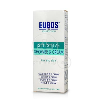EUBOS - SENSITIVE  Shower & Cream - 200ml