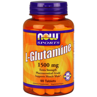 NOW SPORTS L-GLUTAMINE 1500 MG, 90 TABS