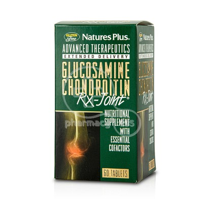 NATURES PLUS - RX JOINT Glucosamine Chondroitin - 60tabs
