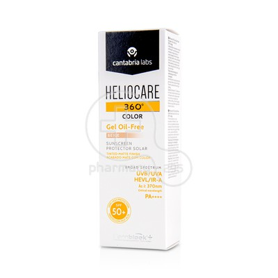 HELIOCARE - 360 Color Gel Oil-Free Beige SPF50+ - 50ml