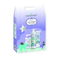 Pharmasept Christmas Gift Με Baby Care Mild Bath 500ml & Extra Calm Cream 150ml & Micellar Water 300ml