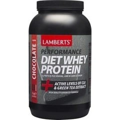 Lamberts Performance Diet Whey Protein + Active Levels of CLA & Green Tea Extract -Σοκολάτα 1 Kg