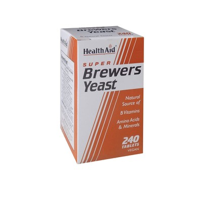 Health Aid - Super Brewers Yeast tablets - 240tabs
