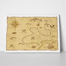 Pirate map illustration 533815102 a