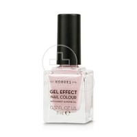 KORRES - GEL EFFECT Nail Colour No06 Cotton Candy - 11ml