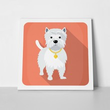 West highland white terrier gold 254962900 a