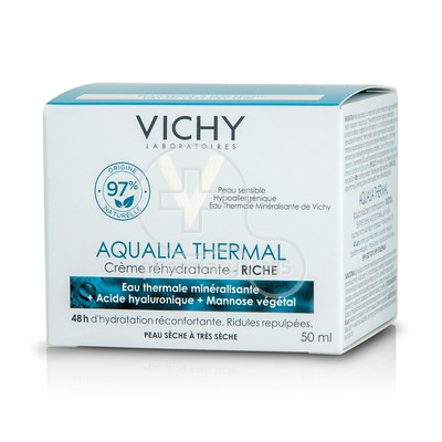 VICHY - AQUALIA THERMAL Creme Rehydratante Riche - 50ml PS