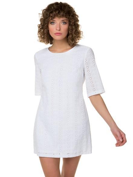13d9910201c9 Φόρεμα με broderie λεπτομέρειες