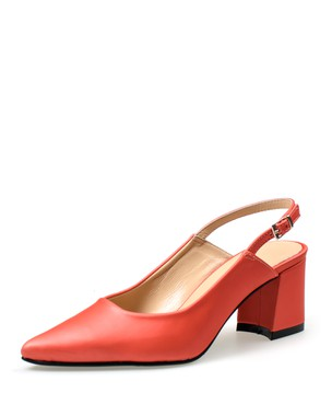 SLING BACK PUMP, MEDIUM HEEL - ANASTAZI BOURNAZOS