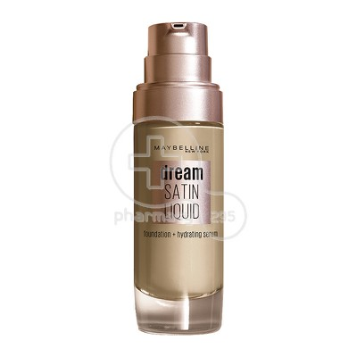 MAYBELLINE - DREAM SATIN Liquid Foundation No44 (Natural Beige) - 30ml