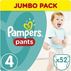 Pampers Jumbo Pack Pants No 4 (8-14kg), 52τμχ