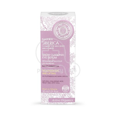 NATURA SIBERICA - SNOW CLADONIA Eye Serum - 30ml