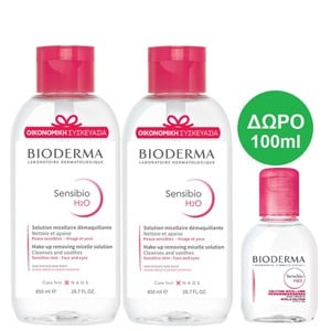 Bioderma sensibio 2x850ml  100ml