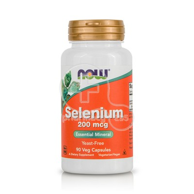 NOW - Selenium 200mcg - 90caps