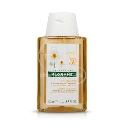 KLORANE - Shampooing a la Camomille - 100ml (Travel Size)