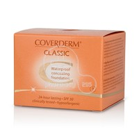COVERDERM - CLASSIC Waterproof Concealing Foundation SPF30 (No7) - 15ml