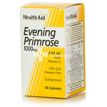 Health Aid EVENING PRIMROSE OIL 1000mg - Εμμηνόπαυση, 30tabs