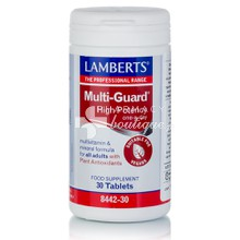Lamberts Multi Guard High Potency - Πολυβιταμίνη, 30 tabs