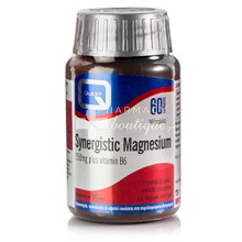 Quest Synergistic MAGNESIUM 150mg (& Vitamin B6), 60tabs