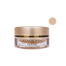 Coverderm Classic Make Up (Χρώμα 1) 15ml