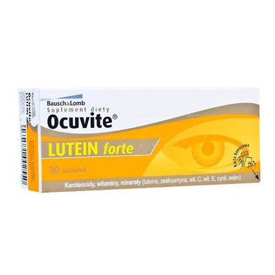 Bausch & Lomb - Ocuvite Lutein Forte 30tabs